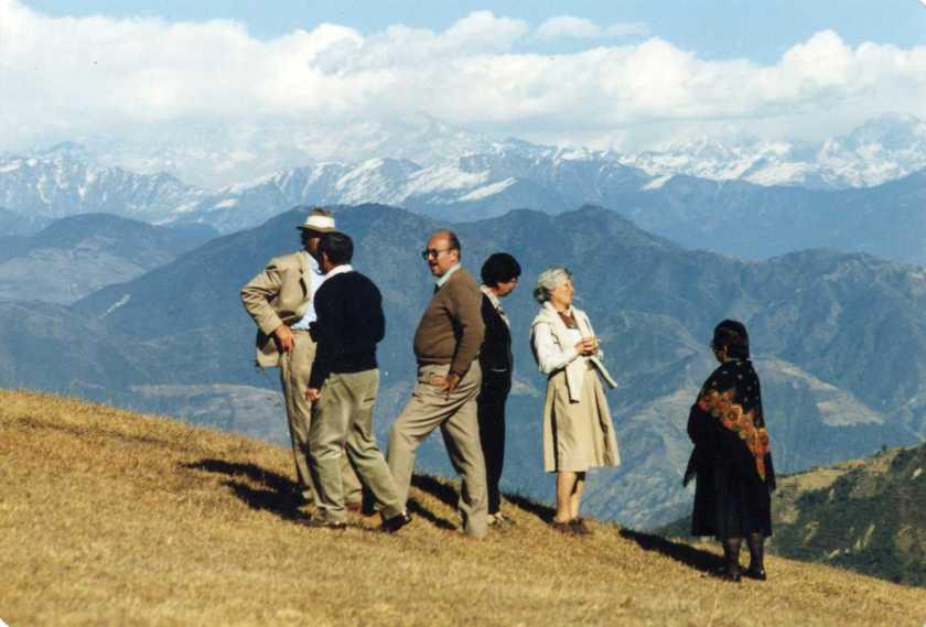 קבלת פנים שגריר בריטניהף קקלו, נפאל