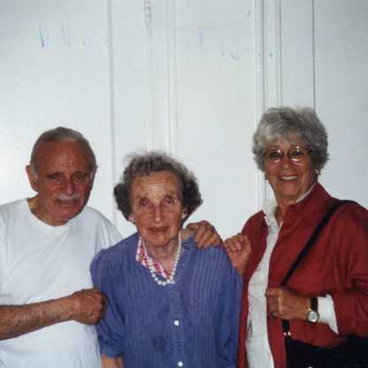 עם מילה ואלכס סדליס, ניו יורק 2003