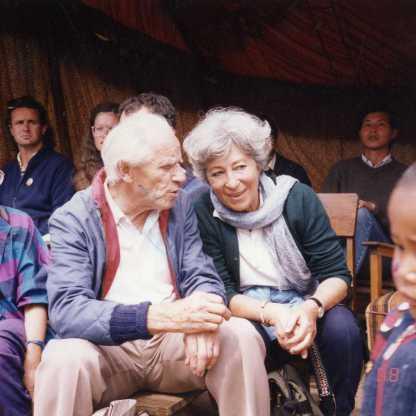 ביקור בקטמנדו עם רובל ריפל, 1988