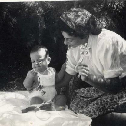עם גדעון בירושלים 1946