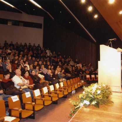 מברכת בכנס לזכר מוניקה, הר הצופים 2004