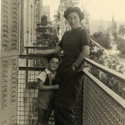 גדעון בן 4, מרפסת דירה מוניקה (מוהילבר ברחוב אוסישקין)