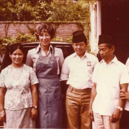 צוות עובדי השגרירות בקטמנדו 1978